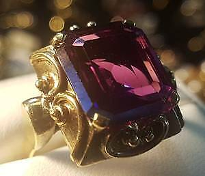 Amethyst Ring 14k gold $1199