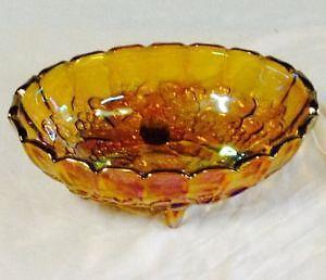 Carnival Glass Fruit Bowl & Glass Fruit Bowl | eBay