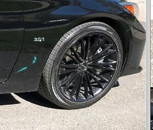 Q50 2014-2019 Mags et pneus 19po/ 19 inch mags and tires