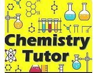 Experienced Chemistry Teacher/Tutor. Online tuition available.