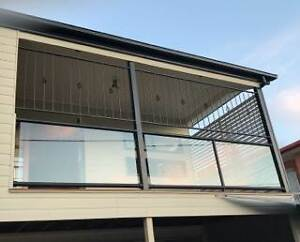 Glass panels A Grade for balustrade or balcony Bulimba Brisbane South East Preview