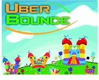 Indoor Inflatable Bouncers for Rent by Uber Bounce