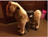Like new Little Tikes Giddy up and Go Pony!