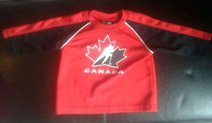 12 Months Team Canada Official Genuine Hockey Jersey Mighty Mac