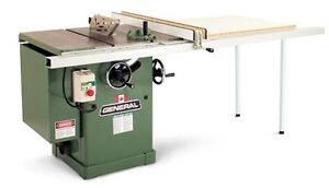 """GENERAL 10"""" TABLE SAW / CABINET SAW"""