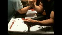 arm wrestling training partner