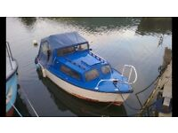 REDUCED PRICE!! Boat 17ft mayland with 9.9HP outboard