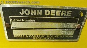 "1999 John Deere 60 Mid Mower Deck"""