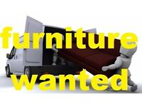 FURNITURE WANTED ! free collection today sofa, suite, leather chair, corner bed, table..