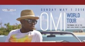 OMI World tour May 1! Great seats! Great price! BELOW COST!