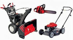 Small engine tune up and repair - snowblower, lawnmower, & more