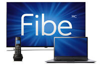 Promo trio 89.90$/12mois Internet ilimite , fibe tv , home phone