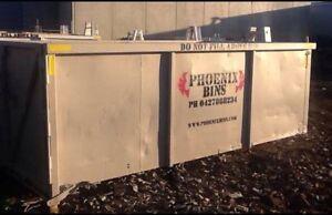 PHOENIX BINS GEELONG   12 m3 Walk In Bin Hire Fyansford Geelong City Preview