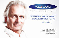 GRAPHIC DESIGN PROFESSIONAL $25.p/h