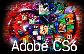 ADOBE CREATIVE SUITE 6 - MASTER COLLECTION- MAC OR PC