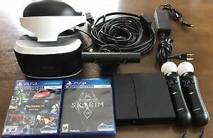 PlayStation Vr bundle with skyrim (just vr no ps4 included)