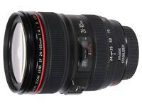 New Canon 24-105 lens