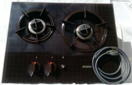 2 Burner Glass Cooktop