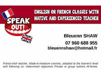 English Classes with native and experienced teacher