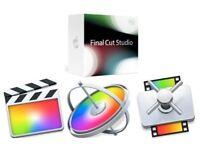 Apple Mac Software Application Installation Final Cut Pro