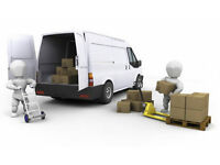short notice man and van available any time just call today