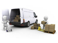 short notice man and van available today just call