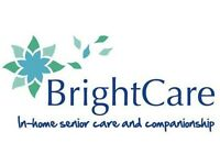 FULL TIME - PART TIME COMPANION CARE WORKERS REQUIRED IN NEWTON MEARNS, GIFFNOCK AND DUNLOP