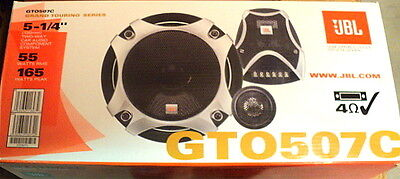 "NEW JBL Grand Touring GTO507C 2-Way 5.25"" Component Car Audio Speakers segunda mano  Embacar hacia Argentina"