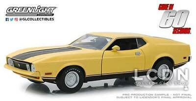 Gone in 60 seconds 1971 Ford Mustang Mach 1 Eleanor 12910 1/18 Greenlight