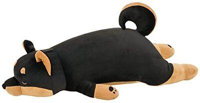 LivHeart Premium Body Pillow Hug Pillow (M) Kotetsu Black Shiba Dog from Japan*