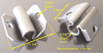 Corner Bracket Caster Socket For 716 Grip Ring Stem. Set Of 4 For Furniture