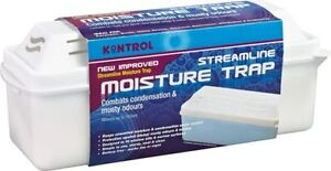 5 x Kontrol Streamline Moisture Damp  Condensation Trap Traps - 5 x 500g