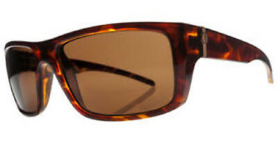 Electric Visual Sixer Gloss Tortoise / OHM Polarized Bronze Sunglasses