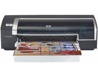 HP 9800 Deskjet Inkjet Printer and HP 4370 Scanjet Scanner
