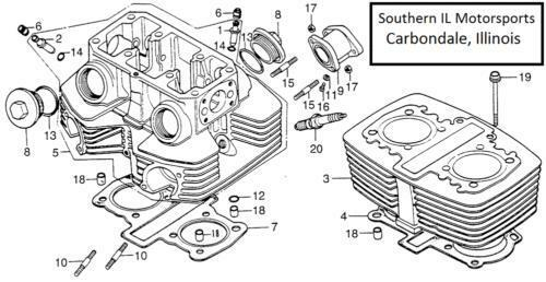 honda oem carburetor gasket set
