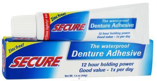 Secure Denture Adhesive >> Secure Denture Adhesive: Health & Beauty | eBay