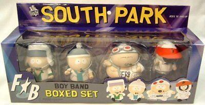 South Park Fingerbang Boy Band Deluxe Set MEZCO (Not In Collectible Condition) (Mezco South Park Boy Band Deluxe Set)