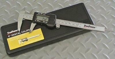 6 Stainless Steel Digital Vernier Caliper - Fraction Decimal Metric Lcd Case