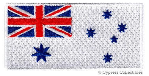 AUSTRALIA NAVY JACK FLAG PATCH embroidered iron-on AUSTRALIAN MILITARY NAVAL new