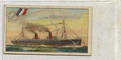 (Ga6195-100) B.A.T., Ships & Their Pennants, La Lorraine 1913 VG+
