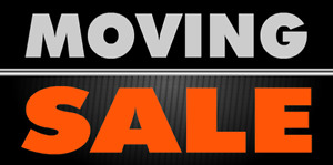 Large moving sale today! 10 mark cres 7AM - 3