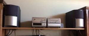 JVC EX-TD5 Compact Stereo System with 2 Speakers