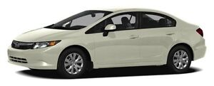 2012 Honda Civic LX ONE OWNER CAR, PURCHASED NEW AT LONDON HO...