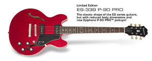 Epiphone ES 339 with P90s