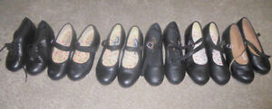 Tap dance shoes sizes 8.5/12.5/13.5/1 to 5, jazz shoes size 4 Kitchener / Waterloo Kitchener Area image 1