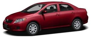 2010 Toyota Corolla S TO BE SOLD AS-TRADED