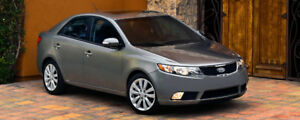 2010 KIA FORTE SX SPORT-LEATHER-SUNROOF-6 SPEED-ONLY 112,000KM