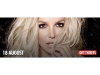 Britney Spears Manchester tickets