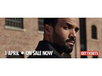 2 seated Craig David tickets MANCHESTER