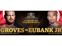 Chris Eubank v George Groves Tickets Manchester Arena 17.02.18